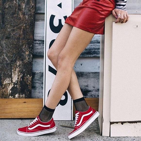 Red Old Skool Vans Womens 6. M 5a5a54989d20f0ffd02a7f2e 64182d951